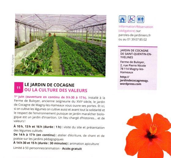 parole de jardiniers JDC109