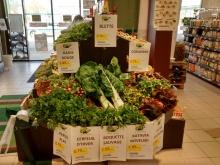 La superbe mise en avant de nos légumes bio